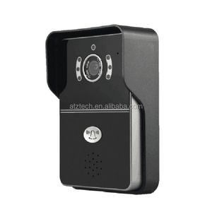 ATZ eBELL New Design HD 1.0MP Wireless IP Doorbell Intercom Wide View Angle Max 145 Degree Full Duplex Audio