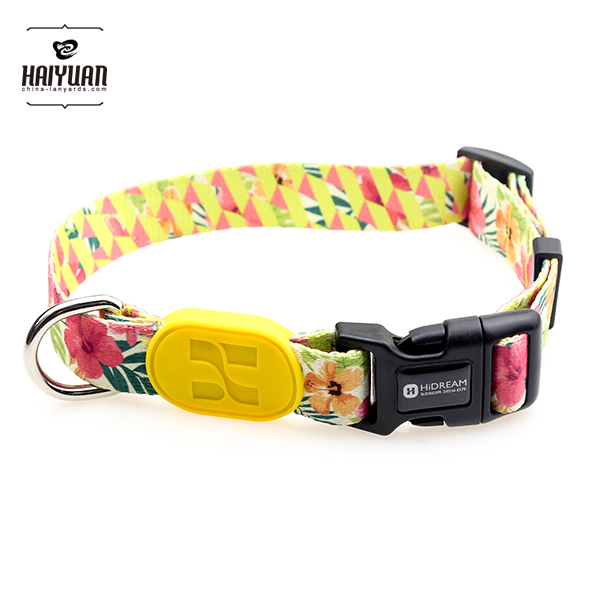 HiDREAM floral newest designed Super Strong collar for <strong>dog</strong>