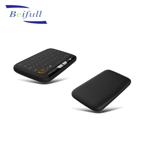Original factory offer 2.4G wireless mini touchpad keyboard H18 for Smart TV computer android box