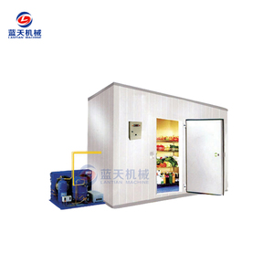 10cm thickness board heat preservation cold refrigeration compressor room for storage equipment for meat in United Kingdom