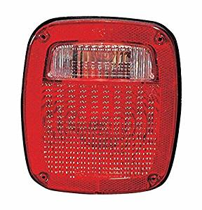 Jeep Wrangler 87-90 Tail Light Assembly RH USA Passenger Side by Depo
