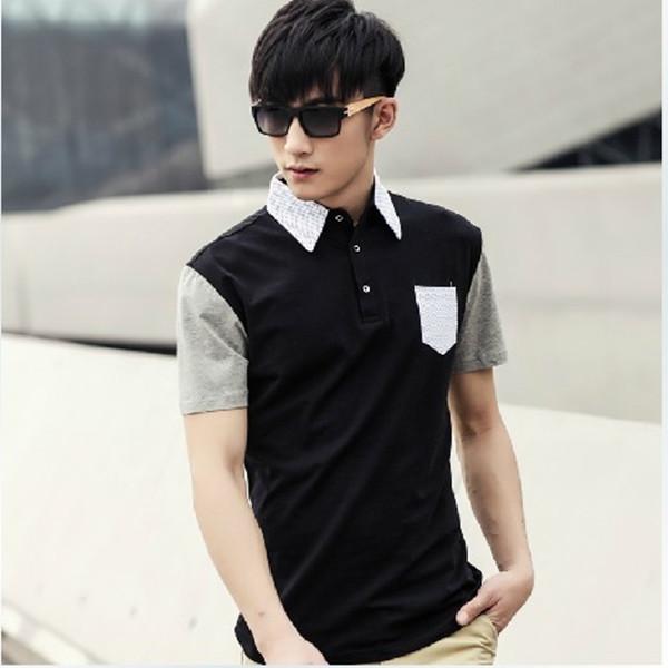 2014 nuevo de moda camisas para hombres hombre camisetas for Lo ultimo en moda para hombres