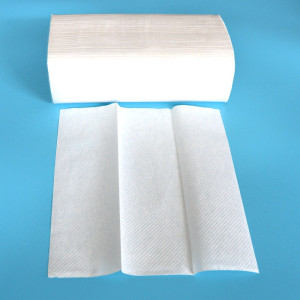 Intereaved multifold hand paper towel