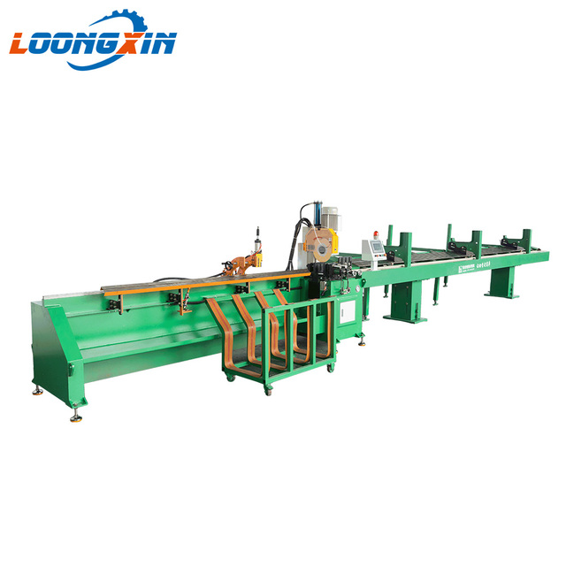 Cnc bandsaw router metal cutting machine