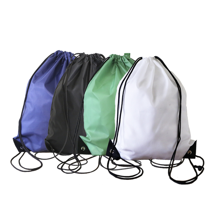 2019 Popular Recyclable gymnasium Bags Personalized Reusable Drawstring Bag With Logo