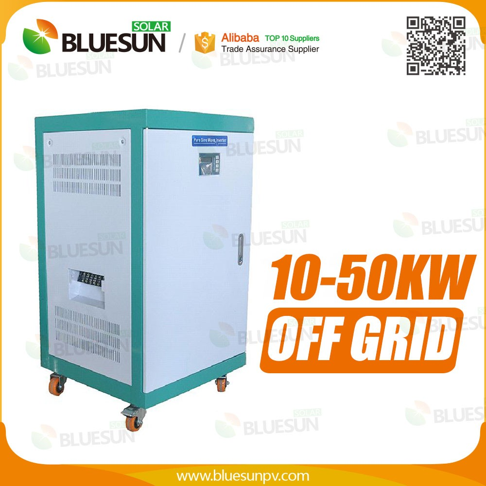 Bluesun off grid 10kva solar system for 12 hour for the solar roof use