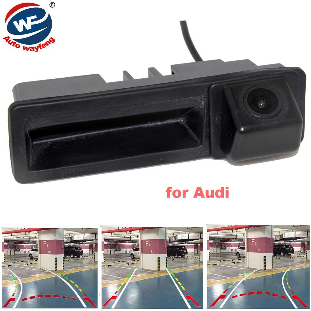Vehicle Electronics & Gps Original Dynamic Trajectory Trunk Handle Rearview Camera For Audi A4 A6 A7 Q7 Q5 Rs5 Rs6