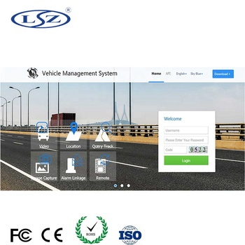 Free Fleet Management software 4CH 3G 4G WiFi Wireless Live Streaming Video  GPS Tracking MDVR Movil school bus Mobile DVR, View Fleet Management