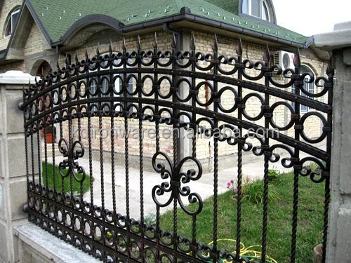 Home Garden Decoration Antique Bronze Color Wrought Iron