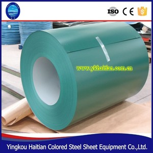 Prepainted Galvanized PPGI Steel Metal Roof Sheet Coil PPGL