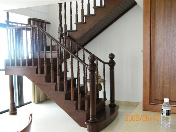 China Interior Wood Stairs Wood Stair Design Stairs Grill