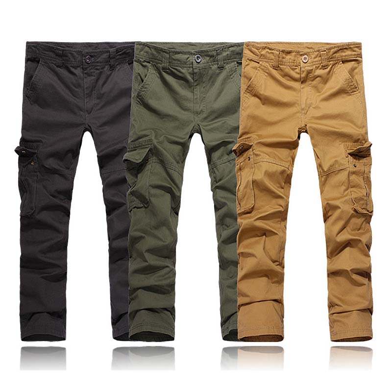 b8db5d5459 Get Quotations · Free shipping New Outdoor Sport Men's pants Cotton  Military Casual sweatpants mens joggers Cargo Pants Work