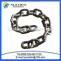 Smooth welded steel link chain din 5685 C long link chain with high quality