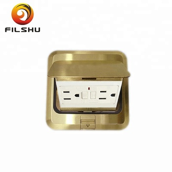 China factory Tamper Resistant Pop-up Electrical Floor Socket Box