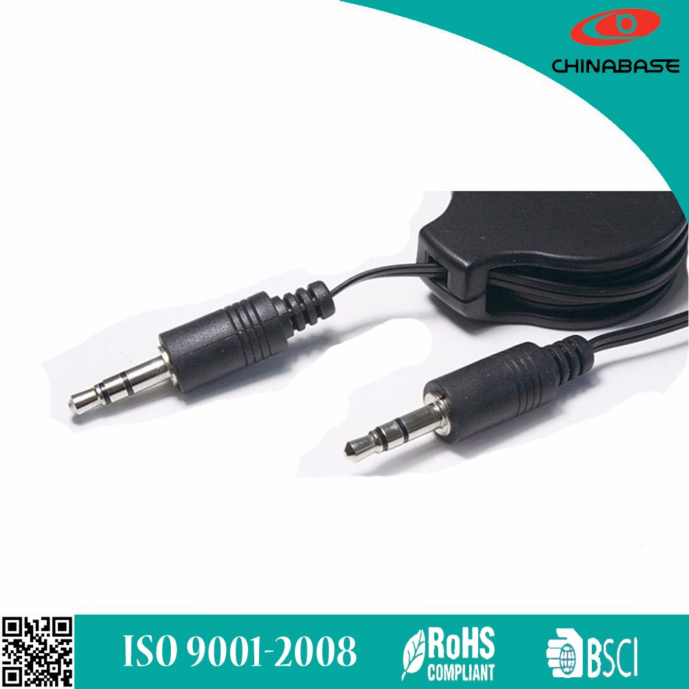 china 3.5mm Jack To Jack Male For iPhone iPod Car MP3 3.5mm aux cable