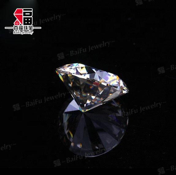 Vs Vs1 Vs2 Vvs1 Vvs2 Clarity Real High Hardness 9 25 Mohs 6mm 0 8ct Ideal  Cut Moissanite Loose Stone - Buy Moissanite Loose Stone,9 25 Mohs