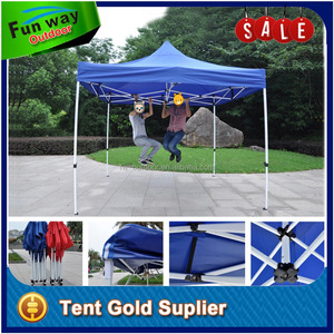 Fire Retardant Durable 800D top POP UP heavy duty folding tent 3x3