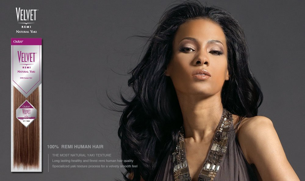 Buy Velvet Remi Human Hair Weave Natural Yaki 10 Inch Short1b