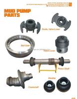 Mud Pump Parts Bull Gear/valve Cover/bladder/crankshaft/pinion ...