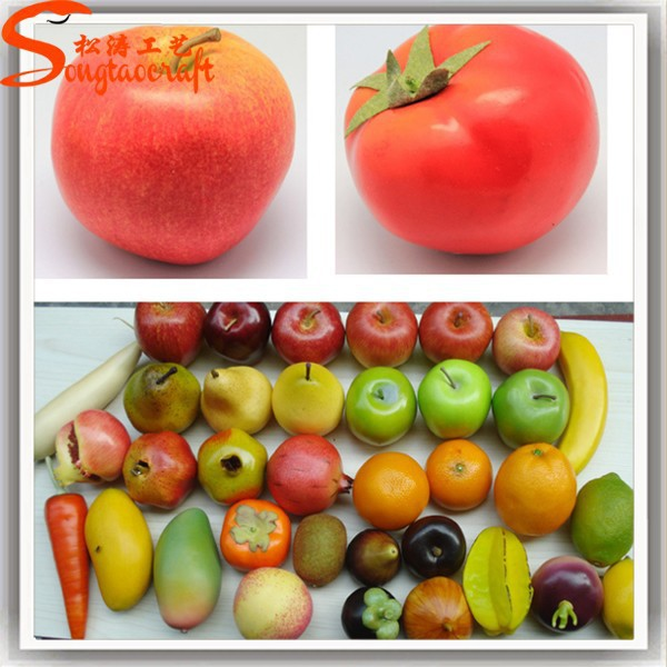 Wholesale Different Style Of Artificial Fruit For Decoration Artificial Fruit Ornaments