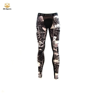 Custom workout compression sports fitness men tight joggers