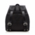 Best fashion black backpack bag women pu leather girls ladies travel bag