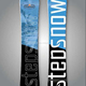 factory wholesale winter snow sled wood core board snowboards