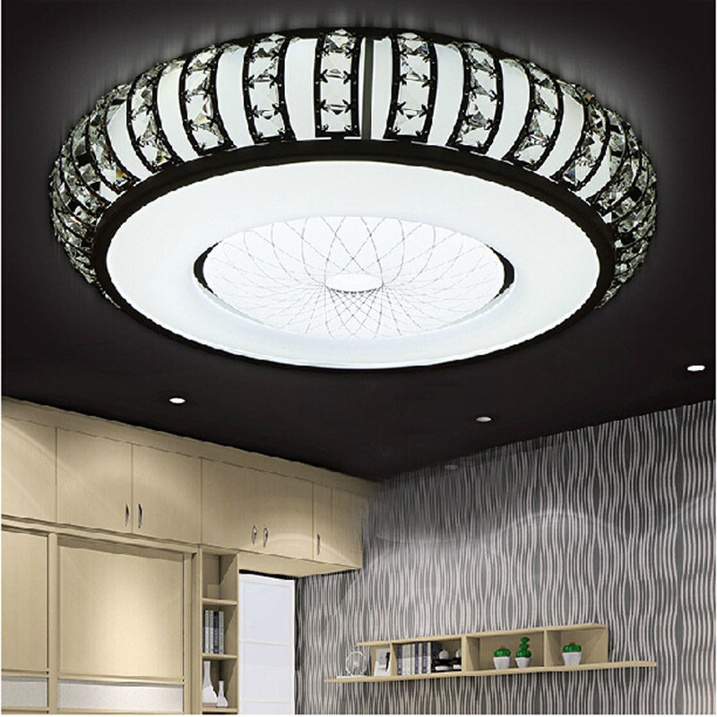 Round Bedroom Ceiling Bedroom Feature Wall Paint Ideas Bedroom Decorating Ideas Teenage Guys Lcd Cabinet Designs Bedroom: Aliexpress.com : Buy Crystal Round Ceiling Lights