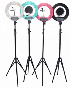 Dimmable LED Ring Light Fill Lamp with stand For Makeup TV Studio Video