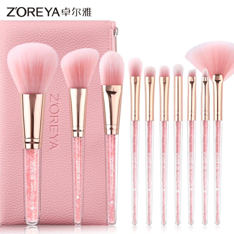 10 stks japanse make-up set professionele make up borstels