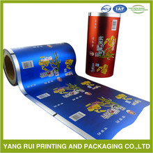 Modern Best-Selling plastic gift wrap film,coffee small bag packaging roll film,food grade plastic film roll