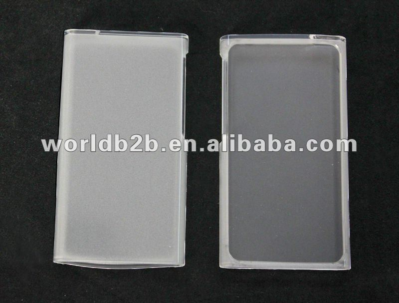 Clear tpu Case Cover for iPod nano 7th