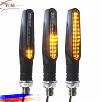 Motorcycle handlebar light motorcycle Indicators Light led turn signal light motorcycle led indicators