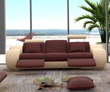 Leather Recliner Sofa 3 2 1 Living Room Set Bedroom Furniture