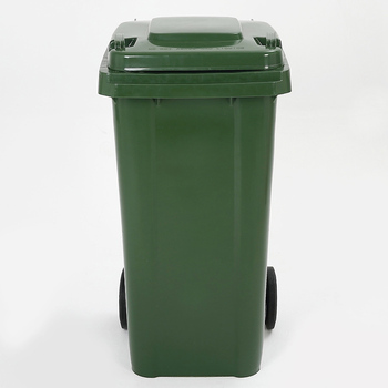New Wholesale Cheap Bins With Handles Outdoor Cans Plastic Push Garbage Bin