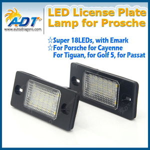12v Truck Trailer Rv Aircraft LED License Plate Tag Light or Convenience Courtesy Door Step Lamp