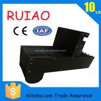 RUIAO pretty telescopic U shape new black Chinese plastic rail cover
