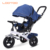 Super 4 in 1 baby toys pushchair big 3 wheel air tire flatbed inflatable recliner smart trike with CE for sale