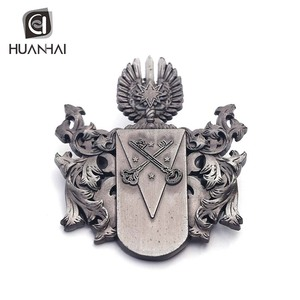 factory professional production soft enamel 3D logo metal military badge custom