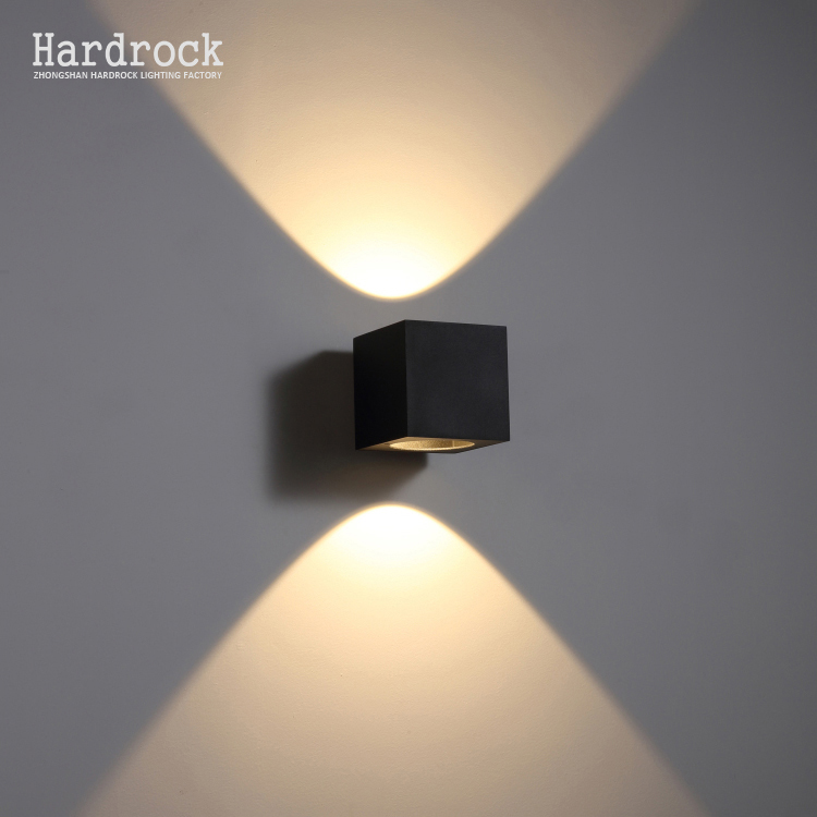 Classical 야외 방수 IP65 벽 lamp 스퀘어 (times square) cube aluminium decorative led 벽 빛