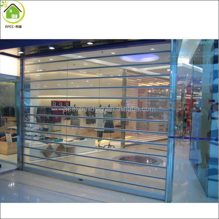 Polycarbonate clear garage door /transparent rolling shutters door/overhead door garage doors & Polycarbonate clear garage door /transparent rolling shutters door ... Pezcame.Com