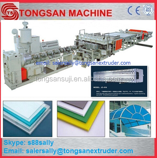 plastic Packing box PP Hollow board machine line