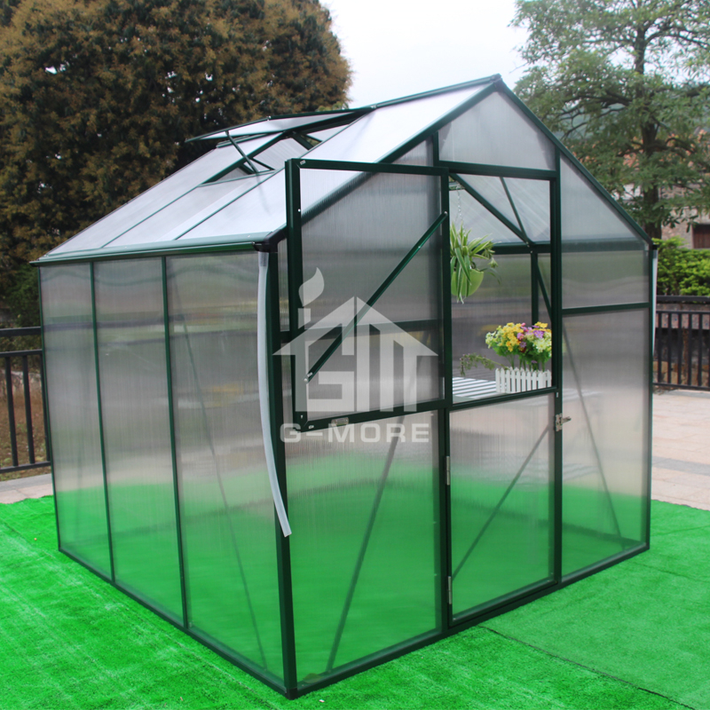 G-MORE Nature's Premium Series, 7'x7', Freely Extended Top Quality Prestige Hobby Mini House for Agriculture