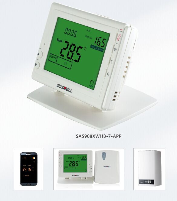 Inal mbrica caldera termostato del calentador de agua de for Termostato caldera wifi