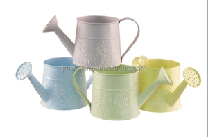 Decorative indoor sticker metal watering cans for garden tool