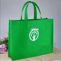 Hot sell promotional custom printed logo tote recyclable shopping pp woven bag,eco friendly bag