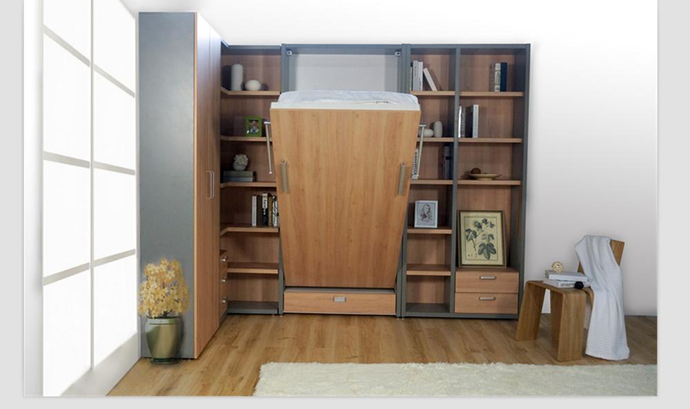 Pieghevole verticale muro letto singolo muro nascosto letto salvaspazio mobili letto buy - Mobili letto salvaspazio ...