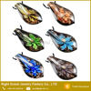 Hot sale Art Murano Lampwork Glass Charms Pendant Necklace