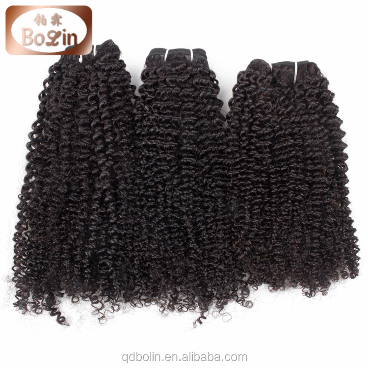 afro kinky curly mongolian hair weave, unprocessed mongolian virgin hair, wholesale virgin