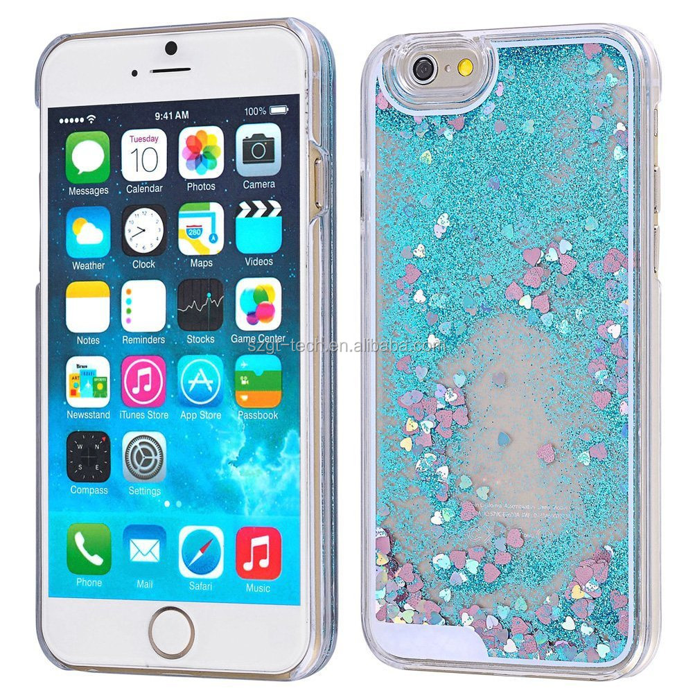 Wholesale Price Liquid Glitter Quicksand Cell Phone Case For ...